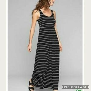 NWT Athleta Striped Maxi Dress